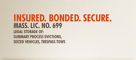 insured. bonded. secure